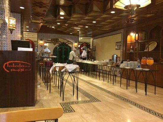 Toledo Amman Hotel: Restaurant - Frühstück
