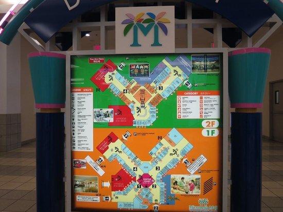 Floor Plan of Micronesia Mall