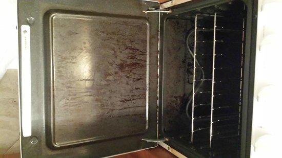 The Barbizon: oven