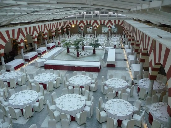 Silken Al-Andalus Palace Hotel: Restaurant