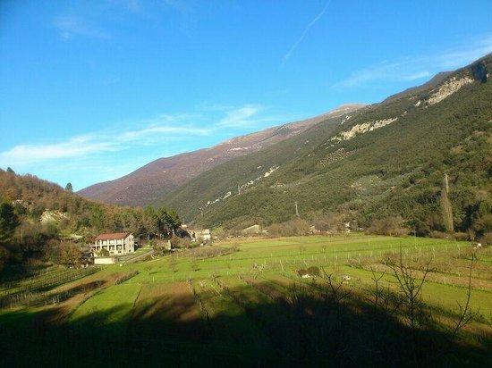 Ai 3 Archi Ferentillo Afiittacamere: Vistas del valle. Agosto 2013