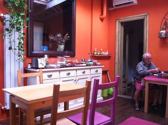 Camere a Sud: La salle des petits déjeuner
