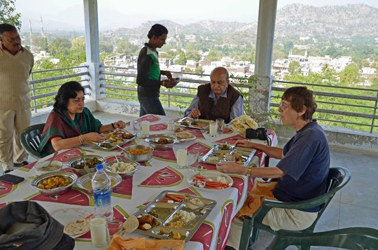 Bhavani Villa: Lunch with a view
