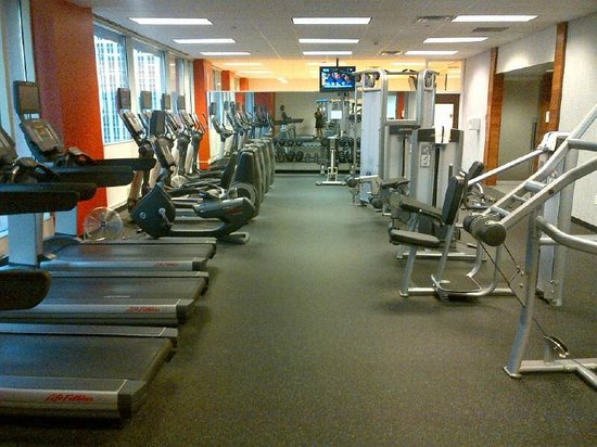 Radisson Blu Minneapolis Downtown: Fitness room