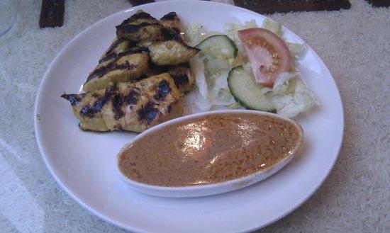 Rice: Chicken Satay Starter