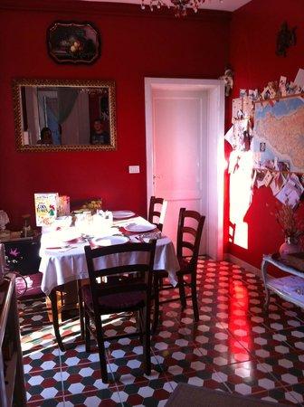5 Balconi : La salle de petit déjeuner