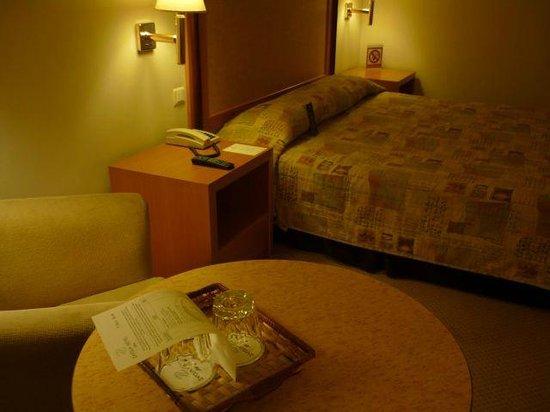 Athens Zafolia Hotel : 落ち着いたお部屋です。