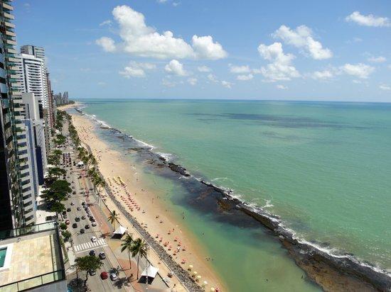 Hotel Atlante Plaza: Vista da praia