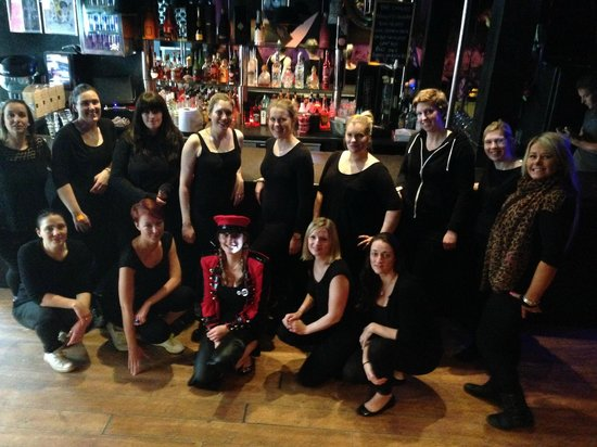 76 Hen Events @ The Copper Rooms: The dancers
