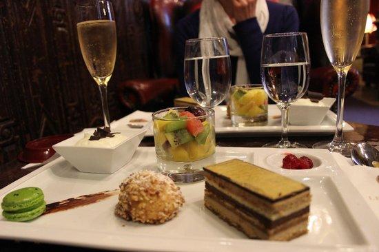 Big Ben Bar: le dessert