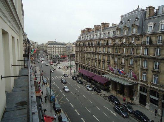 Timhotel Opera Madeleine: balcon de la chambre