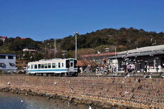 Tenryu Hamanako Railway : ゆりかもめの浜名湖佐久米駅