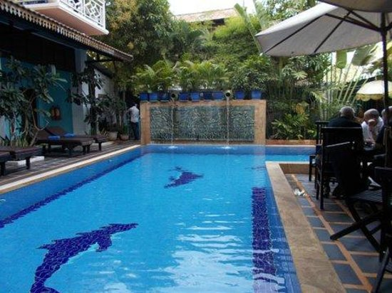 Tan Kang Angkor Hotel: Lovely looking pool