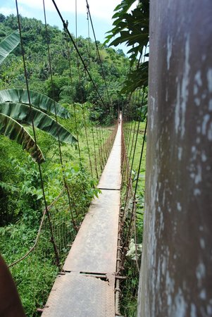 Tukuran Hanging Bridge : Tolle Landschaft
