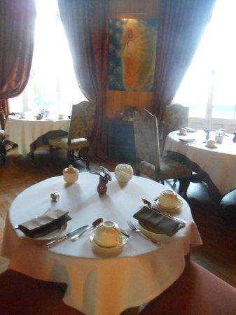 Chateau de Pray : petit dejeuner