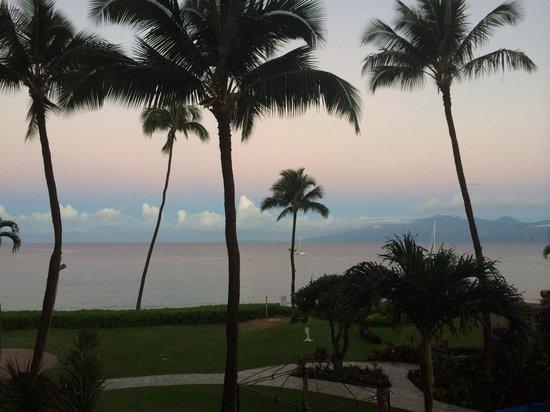 Royal Lahaina Resort : Morning view