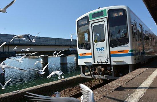 Tenryu Hamanako Railway : 浜名湖佐久米駅