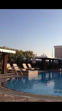 Ramada Jumeirah: View from pool area