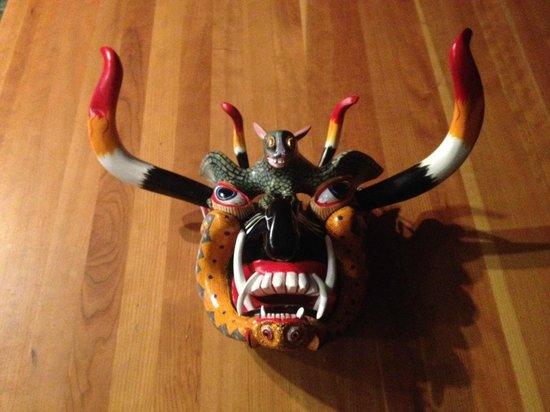 Traditional Purepecha Mask Maker Felipe Horta