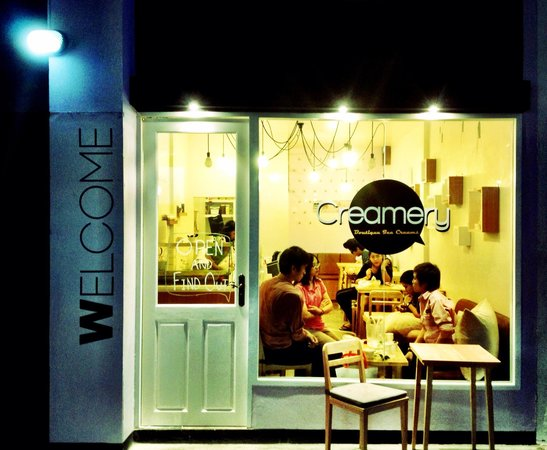 Creamery Boutique Ice Creams