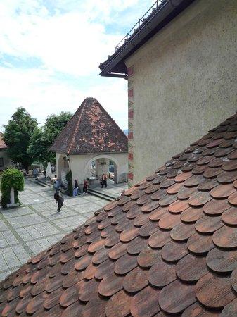 Castillo de Bled: TEJAS