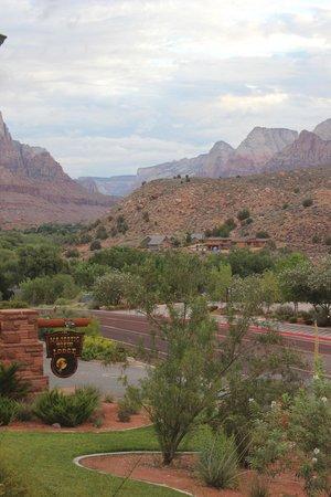Majestic View Lodge: Ausblick vom Balkon