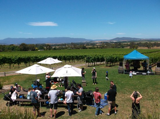 Yarra Glen, Australien: Sunday sessions at Sticks