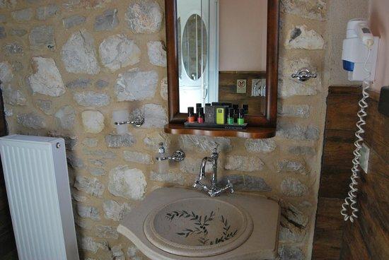 En Dimitsani: Μπάνιο