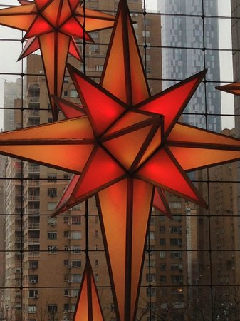 Time Warner Center : red star