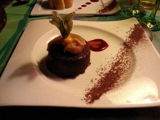 La nef des fous : Fondant au chocolat et caramel beurre salé