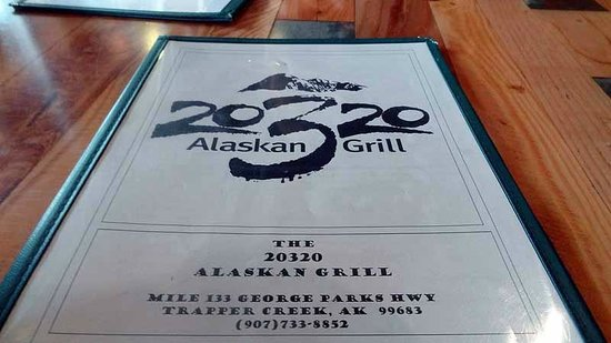 20320 Alaskan Grill: Menu