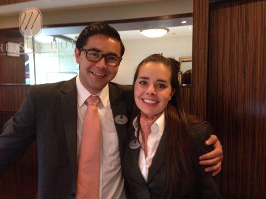 Hotel Morrison 84: Ana Maria y Fabian