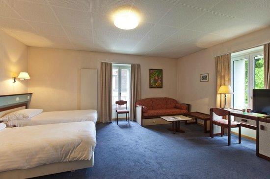 Hotel La Longeraie: Bedroom