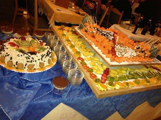 Park Hotel & Club Diamant: десерты