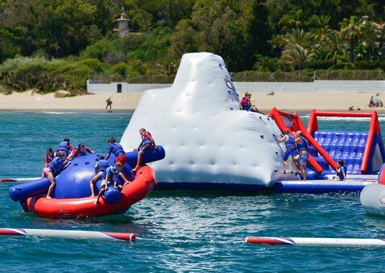 Aqua Arena, Costa del Sol: Spinning,climbing and jumping!