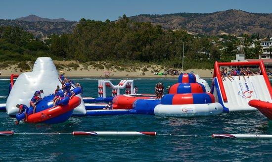 Aqua Arena, Costa del Sol: A real life play-station