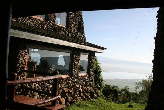 Ngorongoro Serena Safari Lodge: view