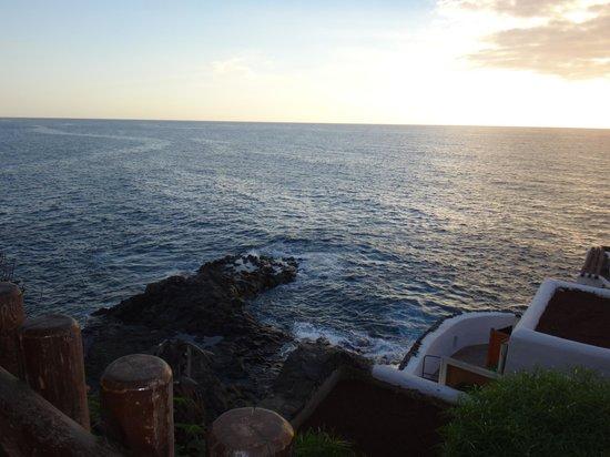 Las Rocas: вид с террасы ресторана