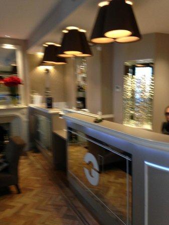 Hotel Galileo: Lobby