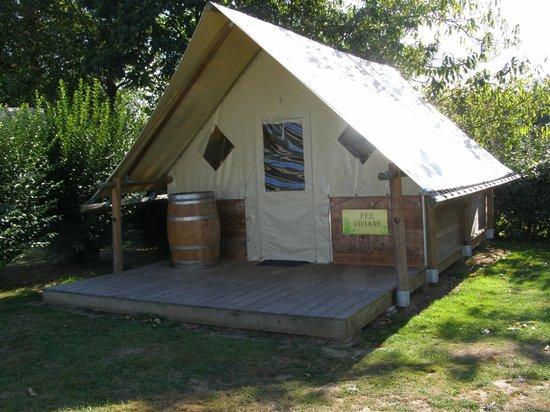 Camping La Vallée du Ninian : Chaumière au pays des Fées