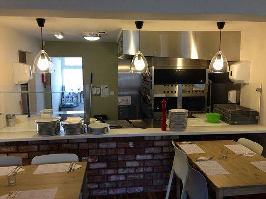 Miaitalia: Open kitchen