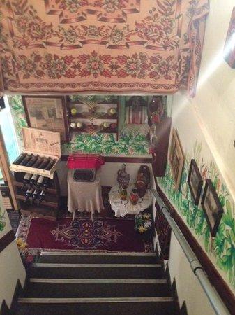 Manastirska Magernitsa Restaurant: Quirky interiors