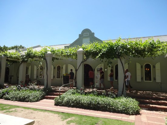 Easy Rider Specialist Wine Tours : Fairview