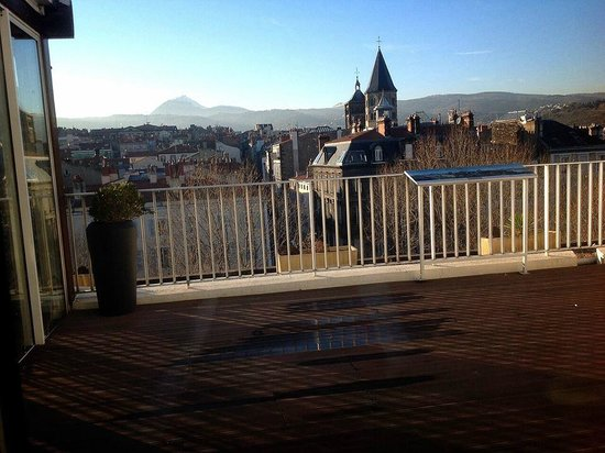 Best Western Plus Hotel Litteraire Alexandre Vialatte: terrasse