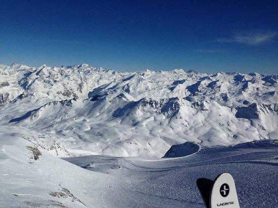 Club Med Val d'Isere : Glacier Pissaillas