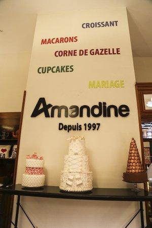 Patisserie Amandine Marrakech : Amandine from 1997