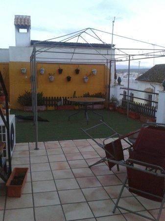 Santa Ana Hostal : Terraza