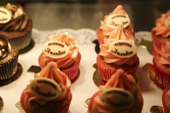 Patisserie Amandine Marrakech : Strawberry cupcakes