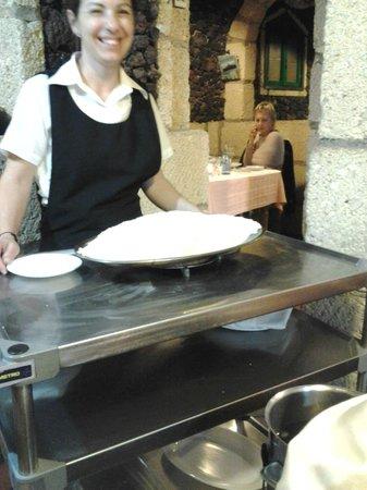 Restaurante Los Angeles: Pescado a la sal