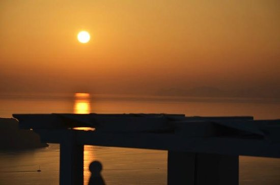 Tholos Resort: Por do Sol